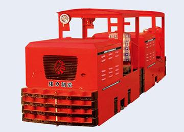 国三CCG5.0600防爆柴油机钢轮普轨机车/防爆钢轮车